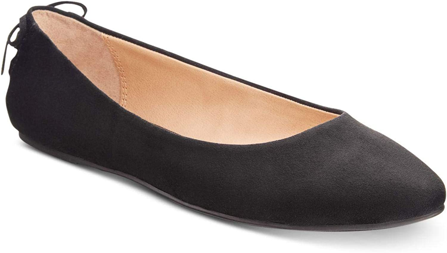 Material Girl Womens Manday Pointed Toe Ballet Flats