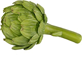 Medium Artichoke, 7 Inch Artificial Vegetable Fake Food, Qty 1