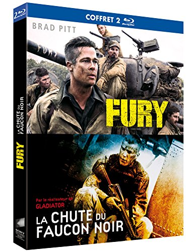 Fury + La Chute du Faucon Noir [Blu-Ray + Copie Digitale]