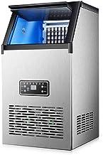 Machine à glaçons Commercial Grand Cube automatique Machine à glace Faire, 12 Minutes rapide de fabrication de glace 60 kg...