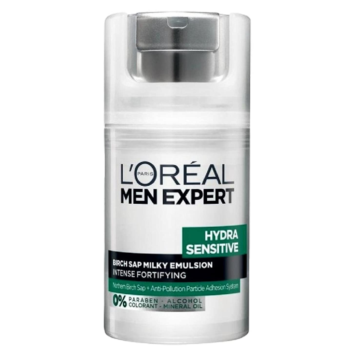 消費者増加する地上でロレアル Men Expert Hydra Sensitive Birch Sap Milky Emulsion Intense Fortifying (For Sensitive Skin) 50ml/1.7oz並行輸入品