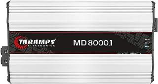 Módulo Taramps MD 8000.1 2 ohms 8000 W RMS Amplificador Som Automotivo