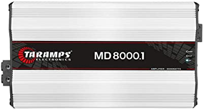 $504 » Taramp's MD 8000.1 2 Ohms 8000 Watts Class D Full Range Mono Amplifier