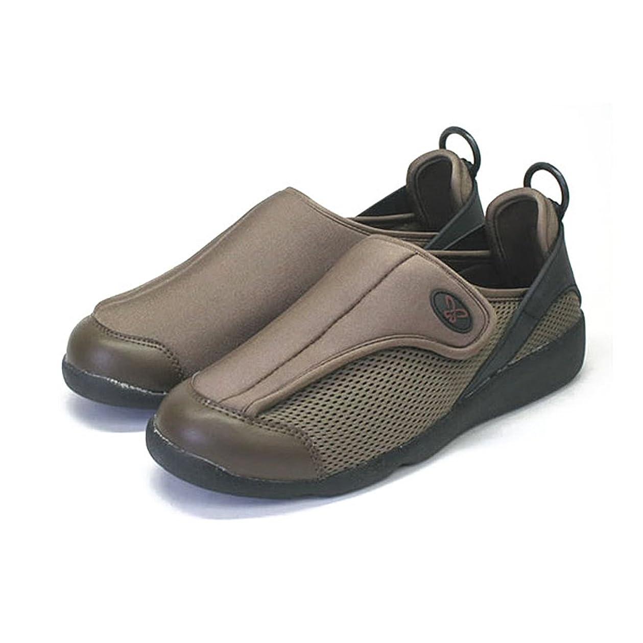 おじいちゃん閲覧する酸っぱいすたこらさんソフト100<ブラウン> 足に優しい抜群の履き心地、超軽量モデルで歩くのが楽しくなる (26.0-26.5cm)