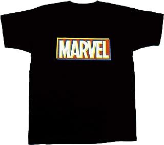 マーベル MARVEL【国内公式監修】Tシャツ マーベルボックスロゴ 3D