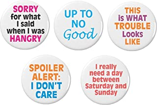 Amazon com: funny quotes - Buttons & Pins / Accessories