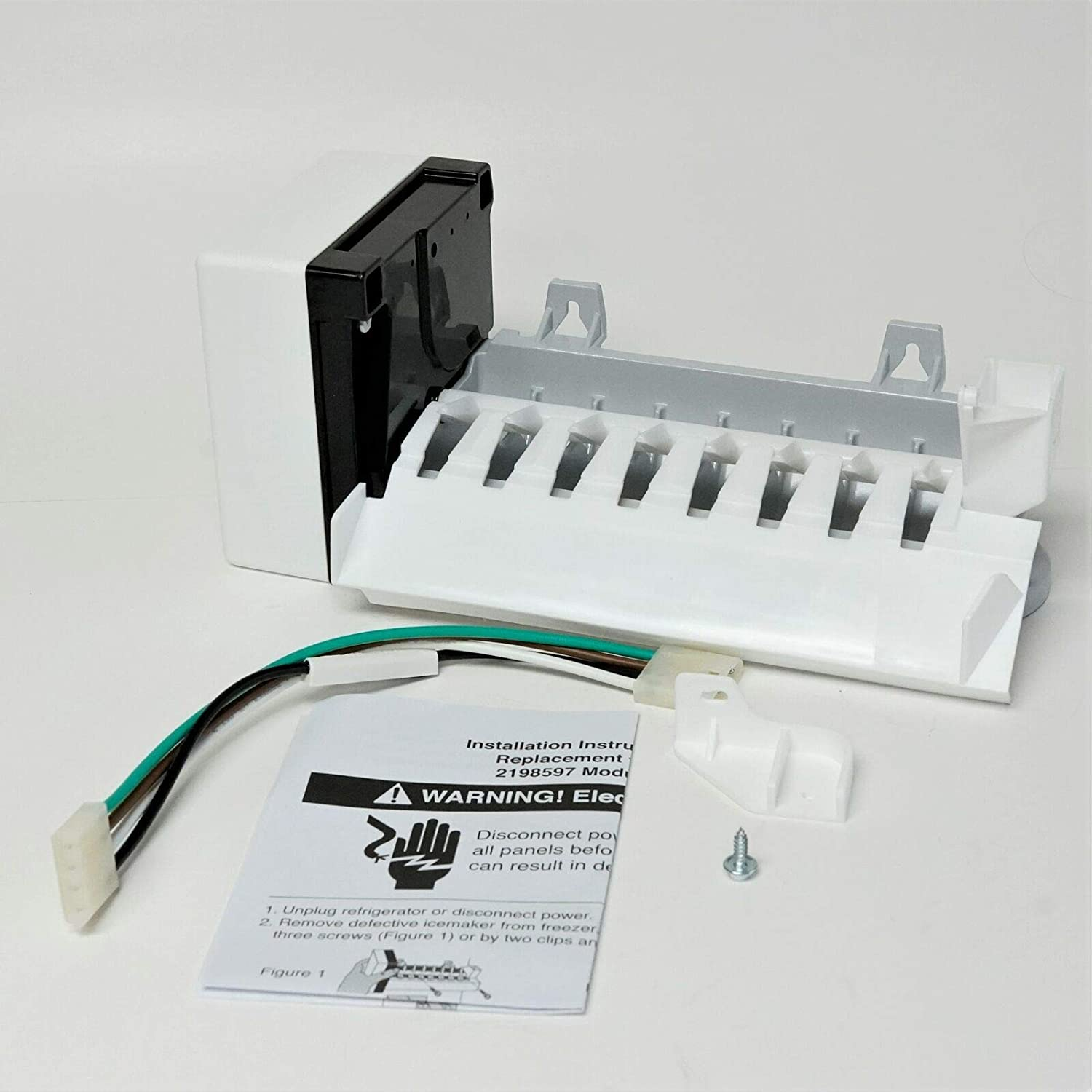 SAN-SAN RIM597 OFFer Replacement for Whirlpool Max 56% OFF Icemaker 626663 8 Cube