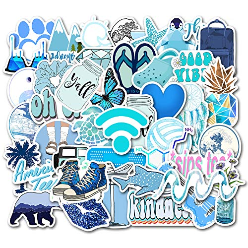 Stickers for Water Bottles 50 PCS, Funny Cute Stickers for Teens,Girls,Adults - Perfect for Waterbottle,Laptop,Phone(2.75-4 inch)