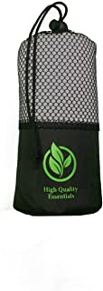 High Quality Essentials Microfiber Sports/Gym Towel; Ultra Compact, Super Absorbent, Quick Drying