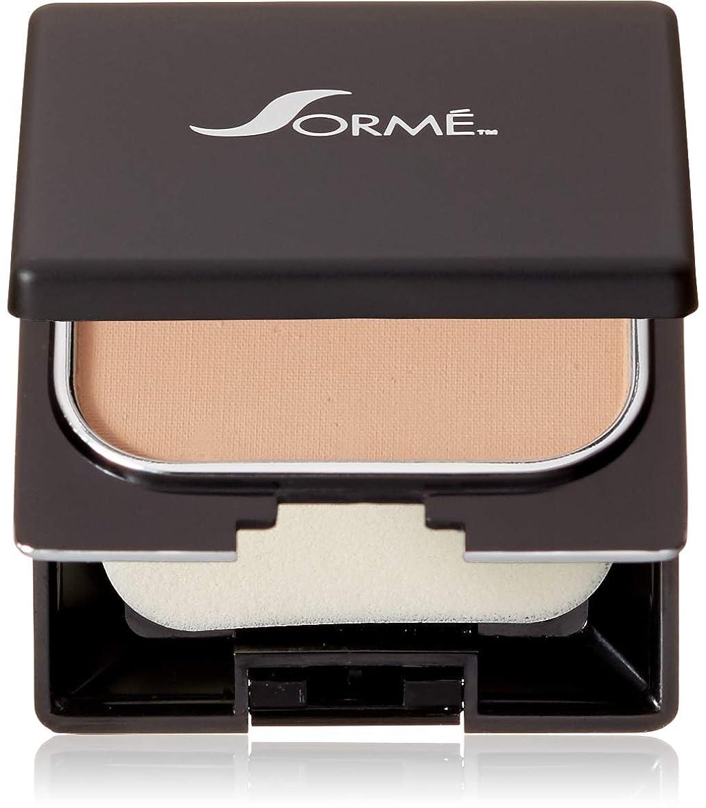 舞い上がる更新舗装するSorme' Treatment Cosmetics Sorme化粧品信じフィニッシュパウダーファンデーション、0.23オンス 0.23オンス ブラッシュベージュ