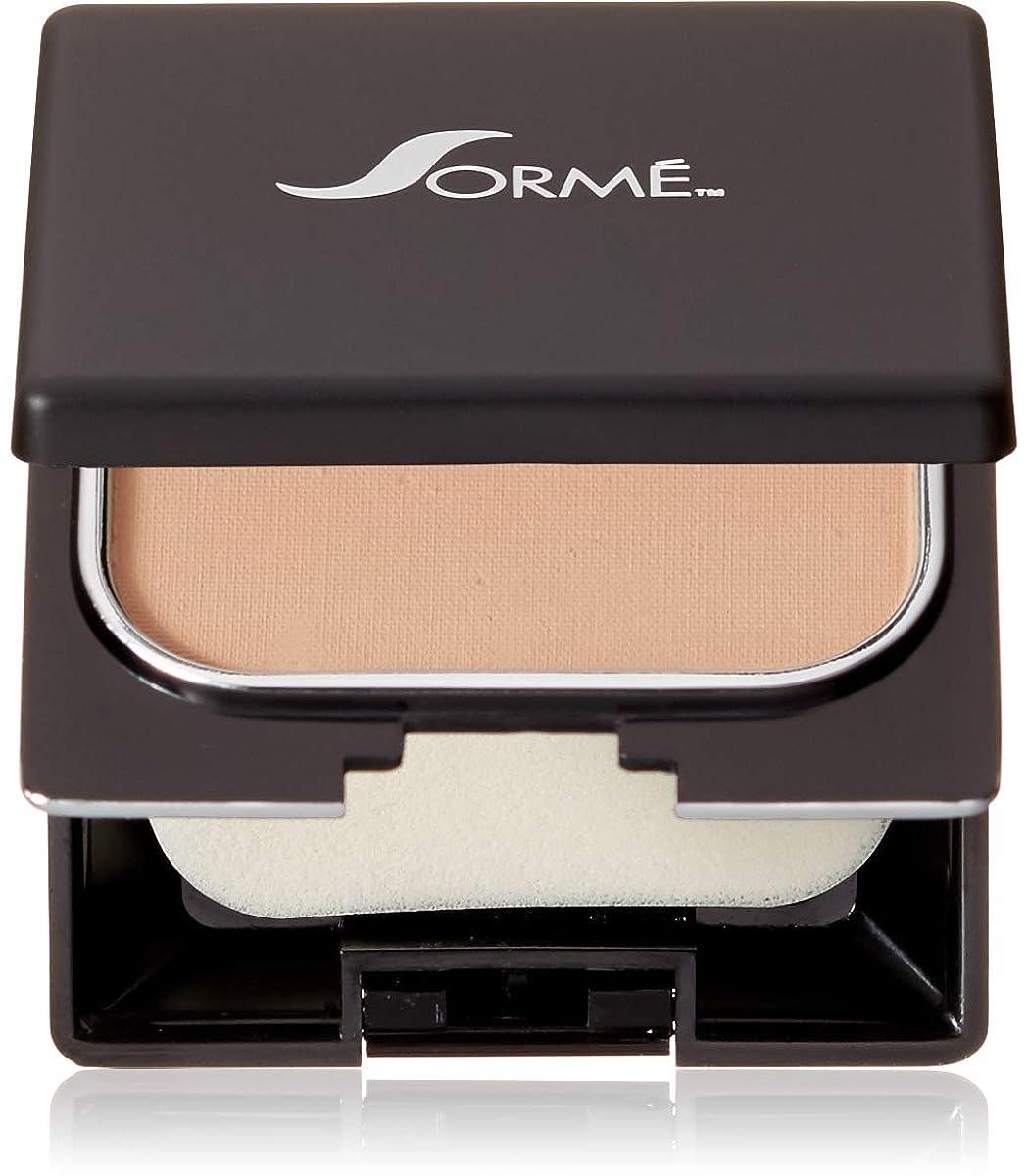 意志アジア人褐色Sorme' Treatment Cosmetics Sorme化粧品信じフィニッシュパウダーファンデーション、0.23オンス 0.23オンス ブラッシュベージュ