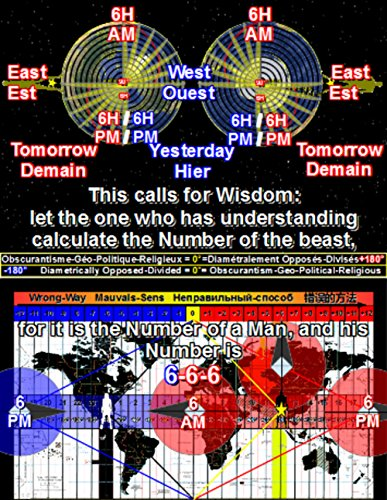Number of the Beast 6-6-6 =0°=(-180°+180°). Number of Wisdom =360° (English Edition)