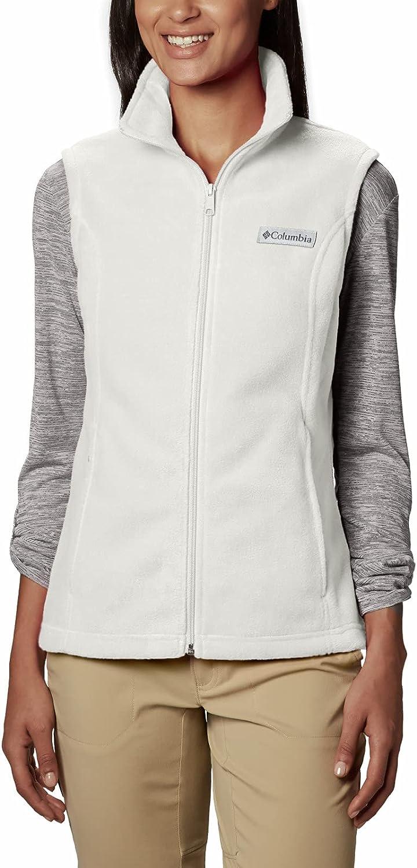 Columbia Rapid rise Women's New product Benton Springs Fleece Vest Soft