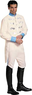 Disney Cinderella Movie Prince Charming Outfit Fancy Dress Halloween Costume