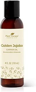 Plant Therapy Jojoba Oil. 100% Pure, Cold-Pressed, Natural and GMO-free Moisturizer and Carrier Oil.