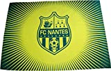 FC NANTES Drapeau de Football FCNA - Collection Officielle Atlantique - Taille 140 x 100 cm
