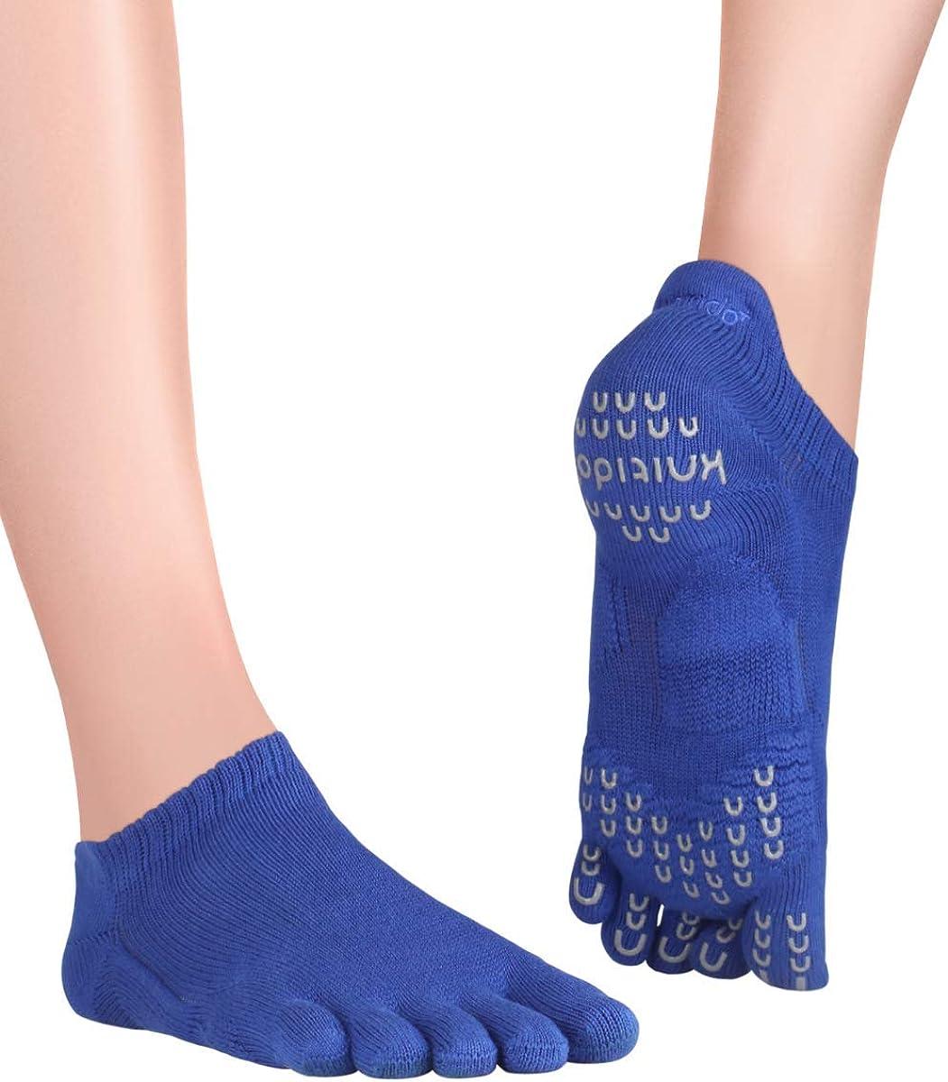 Knitido Plus Sora Calcetines Antideslizantes de Yoga y Pilates
