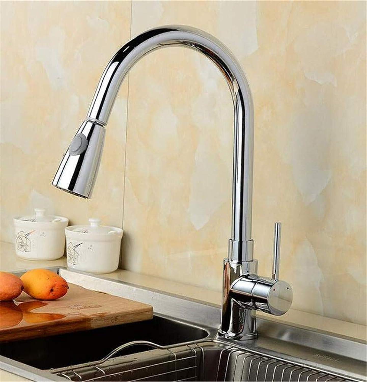 360 ° drehbaren Wasserhahn Retro Faucet360 Grad Swivel ziehen Sie heraus Küchenhahn einzigen Handgriff Rotation Auslauf Spüle Mischbatterie