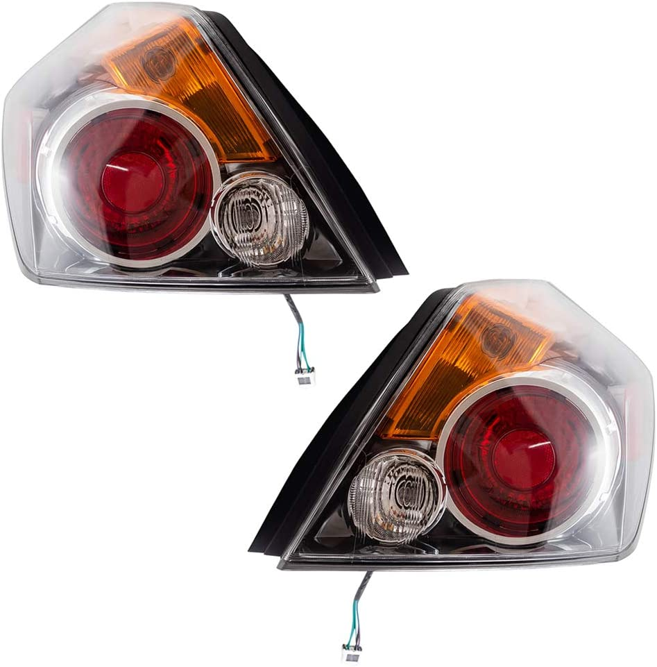 Brock Replacement Driver and Passenger Lamps Taillights Tail 直送商品 物品 Com