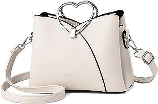 NICOLE & DORIS Fashion Handtasche für Damen Umhängetasche wasserdichte Schultertaschen PU-Leder Henkeltaschen Top Griff Ta...
