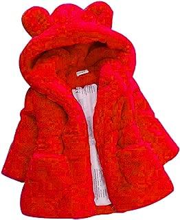 Baby Girls Fur Autumn Winter Warm Coat Jacket Girls Thick Warm Clothes Outwear