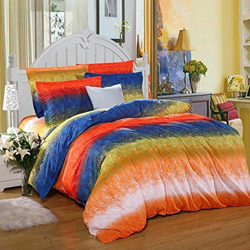 Xie (sergé de coton quatre Ensemble de literie Home Textiles 200*230 cm 200*230cm F