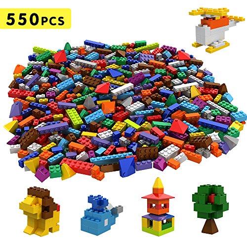 Tumama Juegos de construcción Caja de Ladrillos creativos (550pcs)