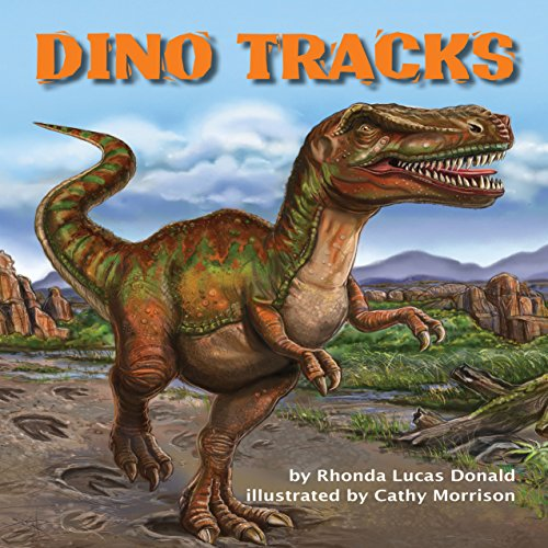 Dino Tracks audiobook cover art