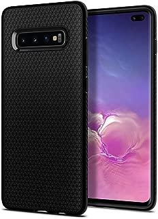 Spigen Liquid Air Armor Designed for Samsung Galaxy S10 Plus Case (2019) - Matte Black (Renewed)