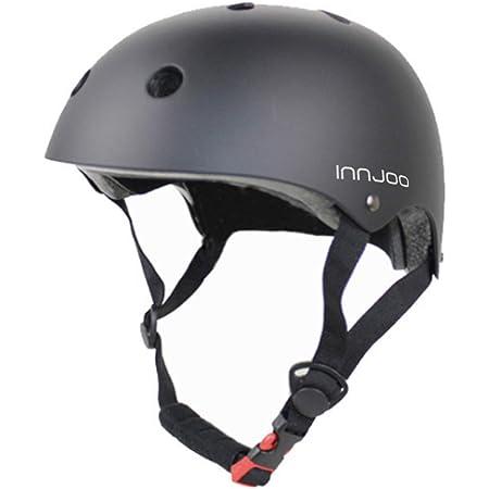 InnJoo IJ-Helmet-BLK Casco Patinete Eléctrico, Bicicleta ...