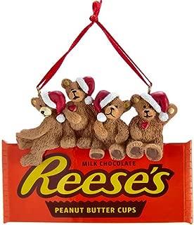 Kurt Adler Hershey's Bears on Reese's Chocolate Ornament