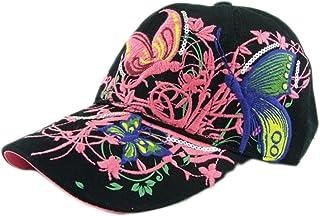 BCDshop Flower Baseball Cap Women Lady Duck Tongue Hat Anti Sai Cap