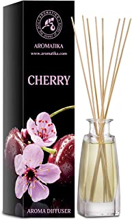 Cherry Reed Diffuser 100ml - Home Fragrance Made with Nice Oils - Great Idea for Mom, Dad, Wife or Husband - Best for Arom...