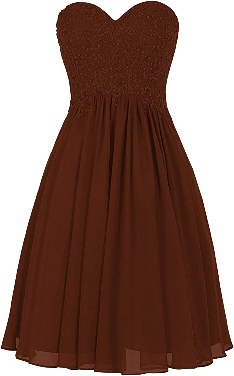 H.S.D Prom Dealing full National products price reduction Dresses Short Bridesmaid Homecoming Dr Applique Dress