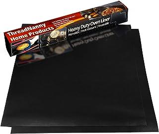 Pack de 2 forros de teflón antiadherente para horno, 17 x 2