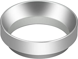 Rosilesi Accesorio de cafetera de Repuesto de Embudo de Anillo dosificador de caf/é de Aluminio Universal de 58 mm Negro