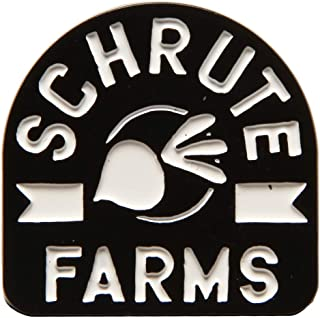 The Office Schrute Farms Logo Enamel Pin