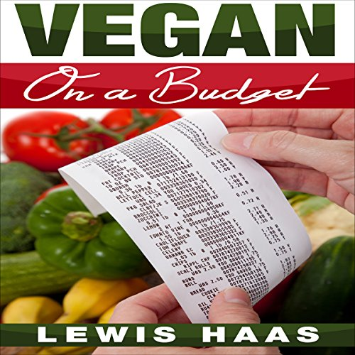 Vegan on a Budget audiobook cover art