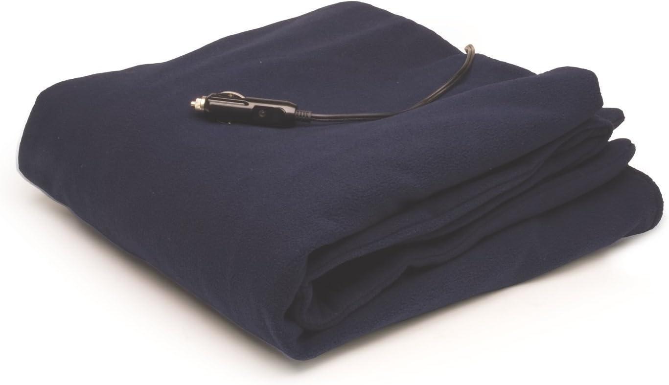 Roadpro 12-Volt Polar Fleece Heated Travel Blanket