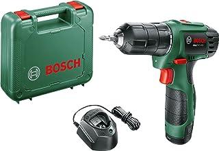 Coffret perceuse-visseuse à deux vitesses sans-fil Bosch - EasyDrill 1200 (Livrée avec une batterie 12V, un embout de viss...