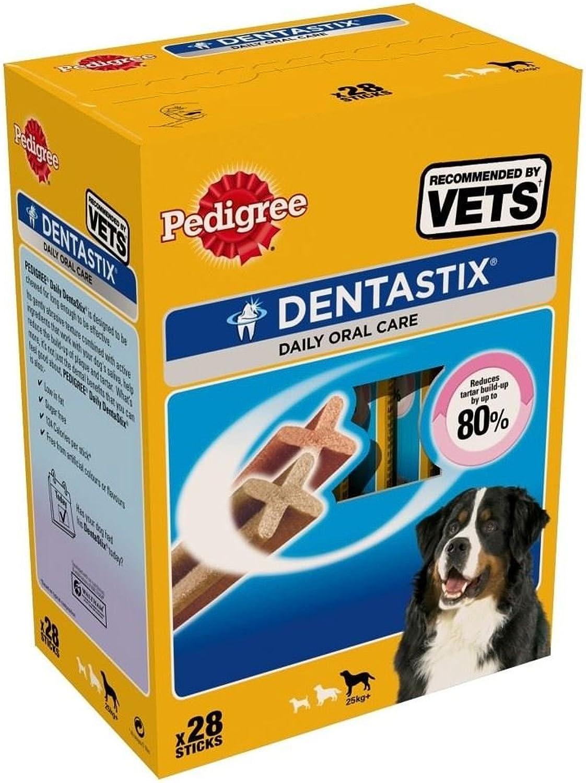 Pedigree Dentastix for Large Dogs (28 per pack  1.08Kg)  Pack of 2