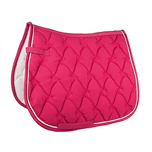 Hkm Hkm 4000315716470 Saddle Cloth Cassandra Softice-3971 Pink/Silver Versatile
