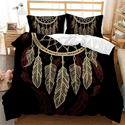 Bedclothes-Blanket Funda nórdica Funda de Colcha,Caso 3D Conjunto de Tres Piezas de Star Sueños Airmativos Star-5_175 * 218