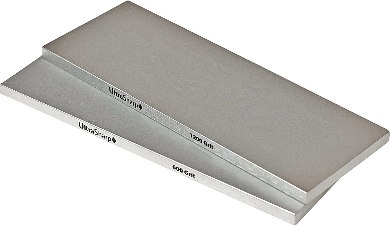 Ultra Sharp Diamond Sharpening Stone 期間限定お試し価格 Set Grits - 1200 高級な 600 8