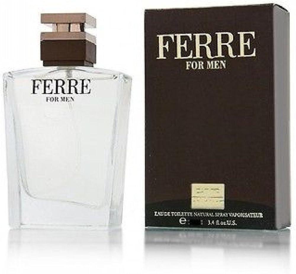 gianfranco ferré ferré for men, eau de toilette,profumo per uomo, spray, 30 ml 8011530380014