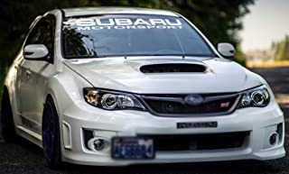 Gy Vinyl Arts,Windshield,Decal,Car,Sticker,Banner,Graphics,for Subaru Motorsport,Impreza,BRZ,WRX,Sti (4.5