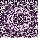 YYRAIN Tapiz Impreso Púrpura Decoración De La Pared del Hogar Regalos Tapiz Pasillo Pinturas Ropa De Cama Colchas 78x59 Inch{200x150cm} A