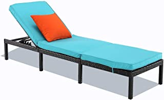 Best blue chaise lounge chair Reviews