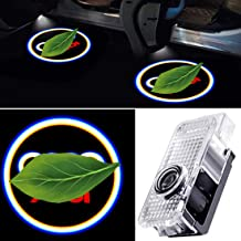 Porucraco Car LED Door Logo Lights for Audi A4 A3 A6 Q7 Q5 A1 A5 TT A8 Q3 A7 R8 RS Audi Puddle Entry Ghost Shadow Welcome ...
