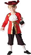 Rubie's - Disfraz Capitán Hook de Peter Pan para niños, 104 cm (85082)